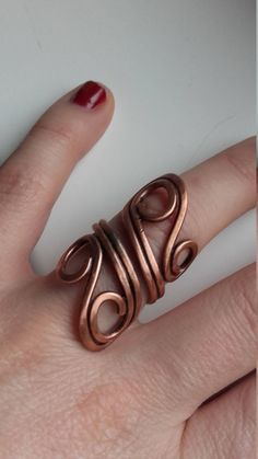 Wire wrapped ring,Copper wire ring,Wire ring,Simple ring,Bohemian ring,Wire jewelry,Wire wrapped ring,Fairy ring,Fairy jewelry,Boho jewelry #simplewirerings