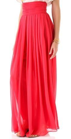 Rachel Zoe Delfina Chiffon Pants-- I wish I were tall enough to wear these.