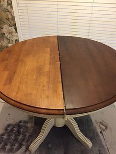 Want to darken your dated golden oak table but don't want to strip? Rethunk…