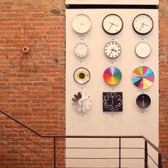 Clocks, MoMa Design Store, NYC.