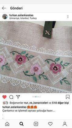 Hacks Diy, Needlework, Cross Stitch, Crafts, Cross Stitch Flowers, Cross Stitch Alphabet, Flower Designs, Cross Stitch Embroidery, Throw Pillows