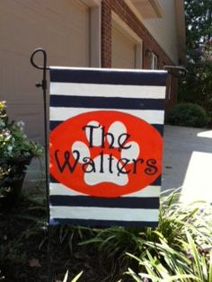 Auburn Garden Flag By 2FriendsBoutique On Etsy, $25.00