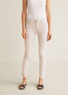 71b39a4d344a Jeans skinny belle encerados - Vaqueros de Mujer