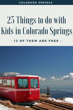 25 Kid Friendly Things to do in Colorado Springs [ 12 of them are FREE! ] This is a sponsored post by Colorado Springs. Check out these 25 kid friendly things to do in Colorado Springs. The BEST part is 12 of them are completely FREE! Colorado Springs Things To Do, Spring Vacation, Vacation Ideas, Vacation Games, Summer Vacations, Mexico Vacation, Cruise Vacation, Dream Vacations, Road Trip Usa