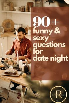 We have over 90 date night questions, some of which are funny and deep but all are insightful. Most of our date night questions are perfect for longer term or married couples.