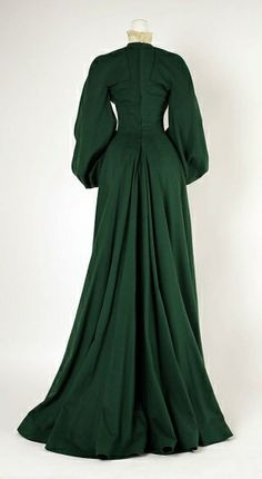 House of Worth, Wool Walking dress, 1902 by enid