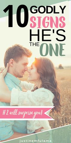 Wondering how to know if he's the one God has for you? Use these 10 godly signs he is right for you to evaluate your godly relationship for yourself. Godly Relationship Advice, Relationship Goals Pictures, Relationship Coach, Dating Advice, Relationship Mistakes, Marriage Advice, Christian Relationships, Happy Relationships, Signs He's The One