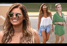 TOWIE's Jessica Wright displays her holiday glow in tiny Daisy Dukes