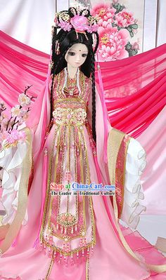 Supreme Chinese Ancient Empress Pink Clothing Complete Set         North Las Vegas