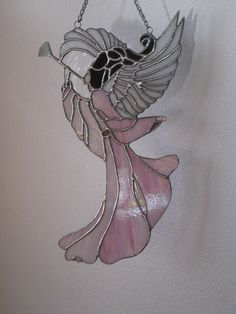Stained Glass Angel. $95.00, via Etsy.