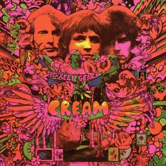Cream - Distraeli Gears