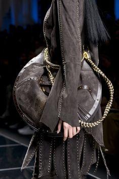 Balmain, Fall 2017 - These Runway Handbags From Paris Tell Us What Will Be Trending Next Fall - Photos