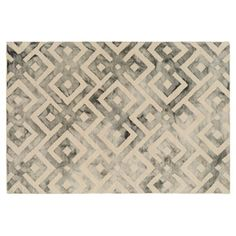 Check out this item at One Kings Lane! Everett Rug, Slate/Beige