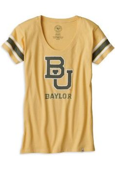 Faded #Baylor Scoopneck Tee ($36 at Baylor Bookstore)