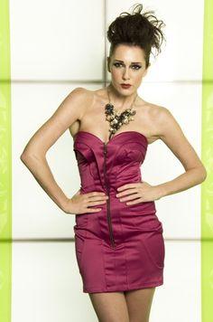 467f6fda8ee sarah banks CLEO MINI ZIP DRESS. sarah tapscott · prom dresses