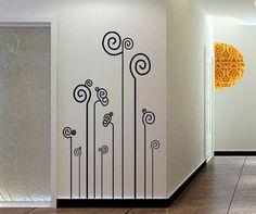 V co nuevo 2014 líneas geométricas de diseñador creativo vinilo DIY pegatinas de pared decoración para el hogar de dormitorio para la decoración del hogar tatuajes de pared en Pegatinas de Pared de Casa y Jardín en AliExpress.com | Alibaba Group