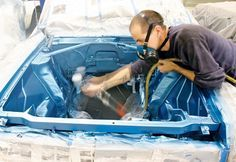 In this tech guide we show you how to paint your engine compartment by going through the engine bay painting process step-by-step with our AMC Rambler project car - Car Craft Magazine