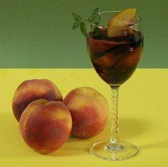 Peaches and Wine - Pesche con Vino
