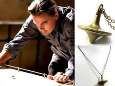 Inception: Dominic Cobb's brass spinning top totem pendant necklace $8