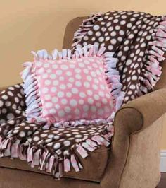 No Sew Fleece Pillow Sham: No Sew Fleece Pillows   DIY pillow project   Craft with JOANN    ,