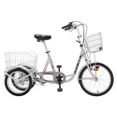 Go Sport prix promo vélo de ville, TRICYCLE ORBITA 3 VITESSES (Blanc) prix 569.00 € TTC au lieu de 669 € sur Go-sport.com