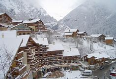 Ski apartment in pretty, traditional French village Vacation Rental in Champagny en Vanoise from @homeaway! #vacation #rental #travel #homeaway