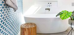 Wonder wall: Light, bright and airy bathroom makeover