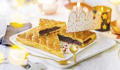 Galette des Rois frangipane amande chocolat, crémeux chocolat, à cuire, 4 à 6 parts
