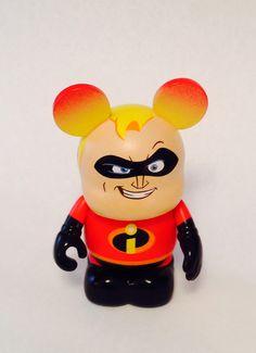 Disney Vinylmation- Pixar Series- Mr. incredible, The Incredibles