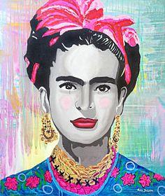Paola Gonzalez Frida Kahlo Pop Art Images