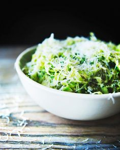 Your New Favorite Salad: Brussels Sprout Caesar: Claire Thomas of The Kitchy Kitchen