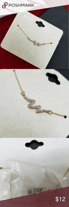 🔥Cara NY Necklace🔥 New Cara new york necklace Gold color .  Not real gold Accessories