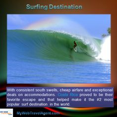 Surfers looking for the  best waves. Here is a place where you can enjoy surfing! mywebtravelagent.com Surfing Destinations, Surfers, Creative Inspiration, Waves, Good Things, World, Surf Girls, Ocean Waves, The World