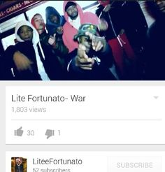 Pics from war video