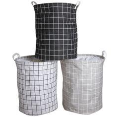 88da6d8ff Urijk plegable lavandería ropa organizador lavandería cestas organizador  gran bolsa de ropa sucia canasta de juguete
