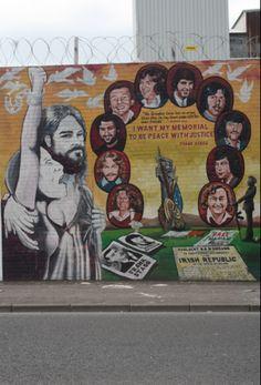West Belfast. 2013. northern Ireland. Belfast Murals, Erin Go Braugh, Hunger Strike, Michael Collins, My Heritage, Archie, Northern Ireland, Celtic, Irish
