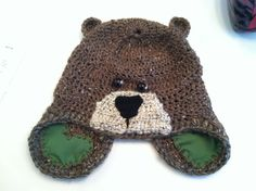 Crochet bear hat     SarahsGypsyWagon on Etsy