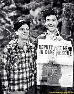 Deputy Fife Hero in cave rescue