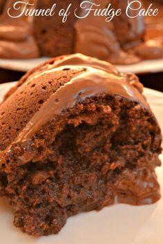 CHOCOLATEY TUNNEL OF FUDGE CAKE HEAVEN RECIPE  PRINT RECIPES HERE: http://recipesforourdailybread.com/tunnel-of-fudge-cake/