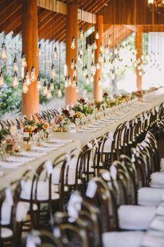 wedding reception idea; photo: Lara Hotz Photography