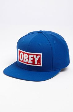 OBEY Original Snapback Hat