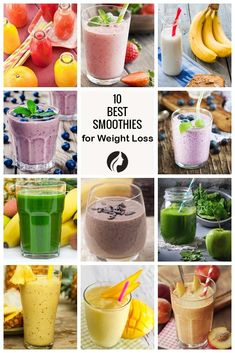 Healthy Smoothies - Are you looking for weight loss smoothie recipes? Besides being effective for burning fat, such smoothies are very delicious! Check out our choices. Weight Loss Meals, Weight Loss Smoothie Recipes, Quick Weight Loss Tips, Weight Loss Program, Healthy Weight Loss, How To Lose Weight Fast, Losing Weight, Reduce Weight, Loose Weight Smoothies