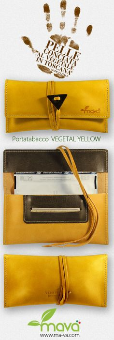 #portatabacco Vegetal Yellow in vera pelle conciata al vegetale! #Tobacco pouch Vegetal Yellow in real vegetal tanned leather! #rollingtobacco #realleather #rolltobacco  #tabakbeutel #smoke #madeinitaly