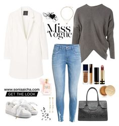 Miss Vogue by soniaaicha on Polyvore featuring polyvore, fashion, style, STELLA McCARTNEY, MANGO, Puma, Fragments, Christian Dior, Jane Iredale, Becca, Gucci, Victoria's Secret, Nika and clothing