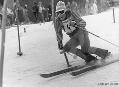 ingemar stenmark ski slalom garmisch germany 1976...
