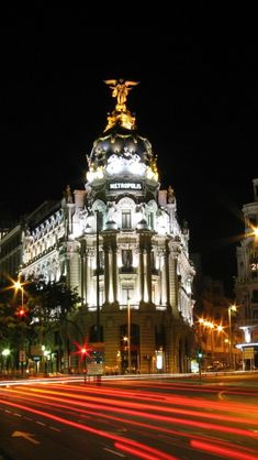 Calle de Alcala, Madrid, Spain, you need at least 3 days for Madrid