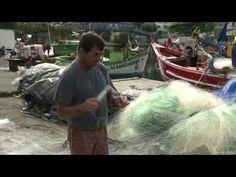 Pescadores em protesto fecham canal da Barra da Lagoa, em Florianópolis - YouTube