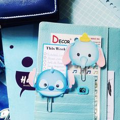 I'm addicted in making these cute Disney Tsum Tsum paperclips