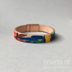 Rainbow colored hand