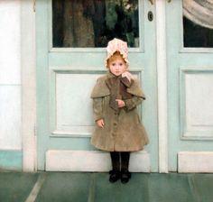 Fernand Knopf, Portrait of Jeanne Kefer, 1885